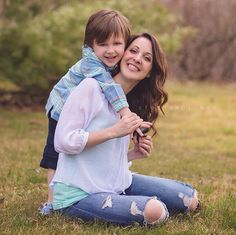 Latest Mother And Son Photography Ideas
