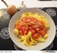 Omáčka na těstoviny Risotto, Macaroni And Cheese, Cabbage, Menu, Pasta, Vegetables, Ethnic Recipes, Food, Mac Cheese