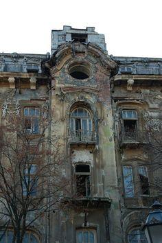 Old hotel in Odessa Russia