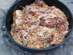 Dutch Oven Chicken | Lark's Country Heart