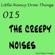 Little Nancy Drew Things