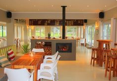 The Clubhouse at Claremont Cricket Club - Restaurant in Cape Town - EatOut Cape Town, Cricket, Restaurant, Club, Dining, Interior, Room, House, Furniture
