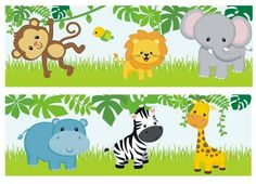 Jungle Theme Birthday, Jungle Theme Parties, Jungle Party, Baby Party, 1st Birthday Parties, Safari Party, Safari Thema, Baby Motiv, Deco Jungle