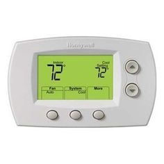 Thermostat, Nonprogrammable, 3H 2C by Honeywell. $115.74. Digital Nonprogrammable ThermostatsWhite color.Low Voltage Thermostat, Digital Nonprogrammable Multi Stage H/C or HP, Stages Heat 3, Stages Cool 2, System Switching Heat-Off-Cool-Auto-Em. Heat, Fan Switching Auto-On, Digital Display, Voltage (AC) 20 to 30 Vac, Control Range (F) Heat: 40 F to 90 F; Cool: 50 F to 99 F, For Use With HZ Zoning Panels