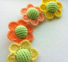 crochet beads flower teething necklace supply by Fiscraftland