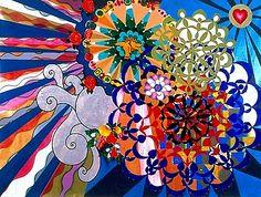 arte brasileira: Beatriz Milhazes -  o selvagem