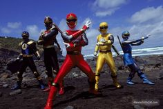 Power Rangers Ninja Storm publicity still