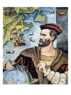Jacques Cartier (1491-1557) .