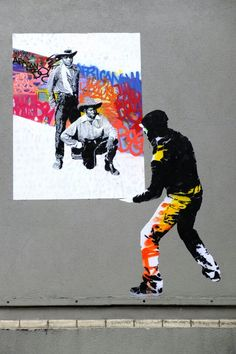 street art - Paris 19 - rue des dunes