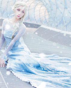 Elsa (FROZEN) | SAIDA - WorldCosplay