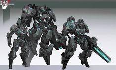 Futuristic Armour, Futuristic Cars, Arte Robot, Robot Art, Arte Gundam, Mecha Suit, Sci Fi Armor, Android, Robot Concept Art