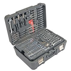 Constructed of durable chrome vanadium, this mechanic's tool set is built to last. * Find out more at the image link. #CarToolKit