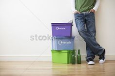 Free Recycling Stock Vectors | StockUnlimited Young Man, Vectors, Free, Upcycled Crafts