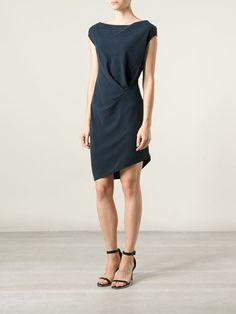 Halston Heritage Vestido De Seda - Mimma Ninni - Farfetch.com