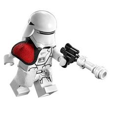 LEGO Star Wars: The Force Awakens - The First Order Snowtrooper Officer Minifigure