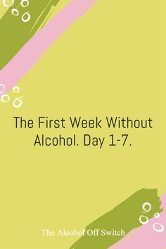 My first week without alcohol, written as I went along to help me with the journey, keep my mind occupied and also to give others an insight into what it is like for someone with two decades of alcohol abuse behind them to try and quit the booze. Giving Up Drinking, Stop Drinking, Feeling Hungry, Feeling Sick, Day Off Work, Long Drink, Me App, Two Decades, One Week