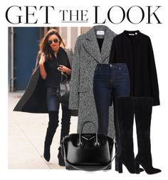 """Get the look"" by kybeauty1 ❤ liked on Polyvore featuring Carven, Uniqlo, Barbour, ALDO and Givenchy"
