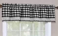 Home decoration is one of the most important elements that help you to define the… Tier Curtains, Black Curtains, Valance Curtains, Buffalo Plaid Curtains, Buffalo Check Curtains, Farmhouse Window Treatments, Farmhouse Curtains, Farmhouse Decor, Retro Diner