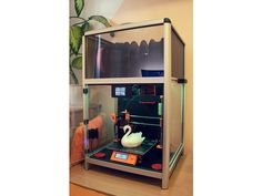 Universal Printer Smart Enclosure by JKSniper - Thingiverse 3d Printer Designs, 3d Projects, Carbon Fiber, Improve Yourself, 3d Printing, Upper Deck, Wood, Prints, Inspiration