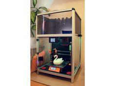 Universal Printer Smart Enclosure by JKSniper - Thingiverse 3d Printer Designs, 3d Projects, Carbon Fiber, 3d Printing, Improve Yourself, Upper Deck, Wood, Prints, Inspiration