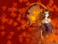 Image result for fall wallpaper Make Believe, Fall Wallpaper, Princess Zelda, Deviantart, Artist, Artwork, Magic, Fictional Characters, Autumn Desktop Wallpaper