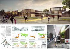 Galería de Arquitectura en Estudio + Nomena Arquitectos, segundo lugar en diseño del Colegio Argelia II y Centro de la Bici - 12