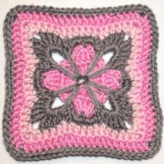 I AM...CRAFTY!: Hooked on Granny Squares - Day 4