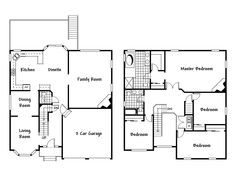 Floor Plan Design Ideas http://www.pinterest.com/njestates/floor-plans/  Thanks to http://www.njestates.net/real-estate/nj/listings