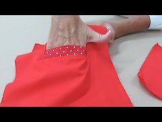 Cómo hacer un bolsillo con ribete - Fabiana Marquesini - 14 - YouTube