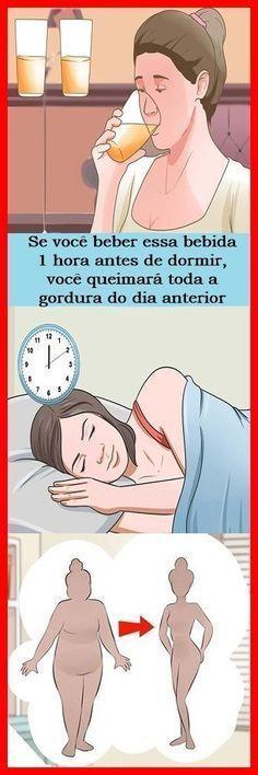 Perca Peso Enquanto Dorme Tomando um Copo Desta Bebida Antes de Dormir! #emagrecer #adelgazar #saúde #salud #healthy #dicas #receita