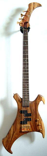 Early prototype of John Entwistle's Buzzard Bass.