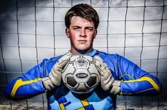 Senior Portrait / Photo / Picture - Soccer - Goalie