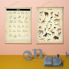 Little and Pure poster praatplaat ABC Baby Essentials, Nursery Art, Playroom, Baby Kids, Kids Room, New Homes, Pure Products, Retro, Frame