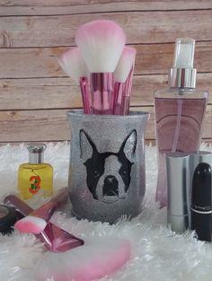 Makeup Brush Holder Makeup Organizer Desk by MySweetCannella Makeup Jars, Makeup Brushes, Money Making Crafts, Makeup Bag Organization, Makeup Brush Holders, Makeup Quotes, Glitter Makeup, Juices, Organizers