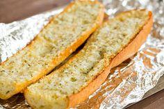 Homemade Cheesy Garlic Bread | browneyedbaker.com