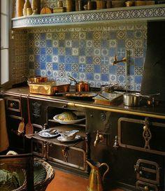 Old Danish kitchen
