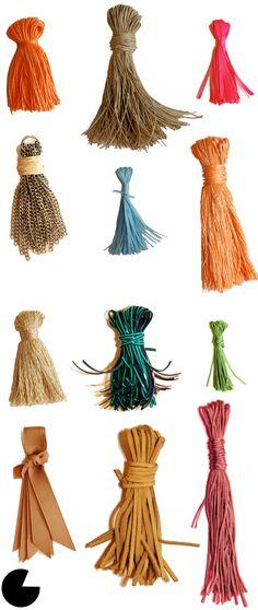 #DIY tassels and lots of other fashion diys!  Other Fashion #fashion #nice  www.2dayslook.com