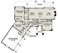 1000 Images About House Plans On Pinterest Ranch House Plans House Plans And Craftsman Home