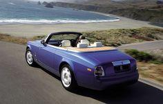 Luxury cars rental – Rolls Royce drophead coupe