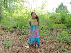 Beautiful HiLo 'Maysen' Peasant Dress in by JustSewStinkinCute, $45.00