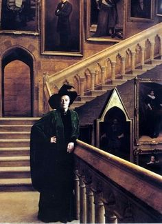 I cannot remember who it was that said I look like Miss McGonagall.  I find it an honor.  McGonagall in Portrait Hall