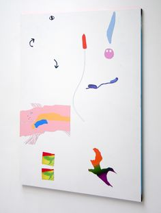 Bob Eikelboom, Untitled (Magnetwork Series No.5) 2014, Enamel paint and magnets on