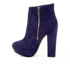 The perfect platform ankle boot