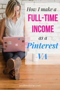 Do you want to work from home and earn a full-time income? Check out this guide on how to make money as a Pinterest VA and start your online career. #PinterestVA #virtualassistant #makemoneyfromhome #workfromhome Work From Home Business, Work From Home Tips, Craft Business, Business Ideas, Online Business, Virtual Jobs, Virtual Assistant Jobs, Make Money From Home, Way To Make Money