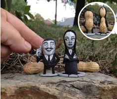Whimsical Peanut Sculptures of Pop Culture Icons - My Modern Metropolis