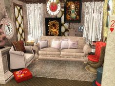Pin Boards, Alice In Wonderland, Sims, Dining Rooms