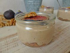 crème au lait d'amande & purée de figues vanillée
