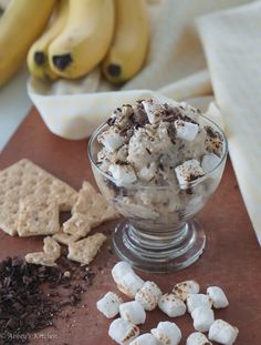 Toasted Marshmallow & Dark Chocolate S'mores Yonanas Recipe from Abbey's Kitchen