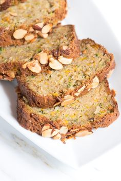 Really nice recipes. Every hour. • Zucchini Bread Recipe with Almonds Really nice...