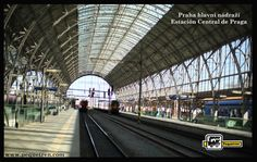 Happy Monday, week and month of September. Praha hlavní nádraží (Prague Central Station, abbreviated as Praha hl.n) is the main railway station in the city of Prague, Czech Republic, and one of the most important in the country. The station is connected to the Prague metro and offers national and international transport services. www.pequetren.com #pequetrenmasquetrenes